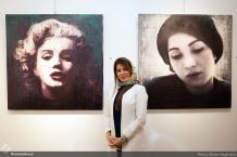 Behnam Daheshpour Gallery - Group exhibition to raise funds for people with cancer - May 2017 - 030 - Photo credit Ehsan Neghabat, Honar Online