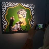 Negar Art Gallery, Tehran, May 2017. Photo credit negar_art_gallery, instagram
