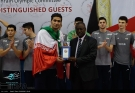 Individual honors: Best Outside Spikers - Amirhosseini Esfandiar (Iran). Photo credit Payam Sani, volleyball.ir / IRNA