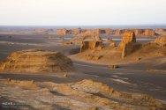 Western Lut Desert, Kerman Province, Iran - Photo credit Omid Shekari (Shokri), MEHR