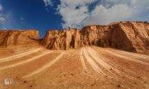 Western Lut Desert, Kerman Province, Iran - Photo credit Reza Eqbali, irantravelingcenter.com