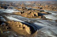 Western Lut Desert, Kerman Province, Iran - Photo credit irandeserts.com