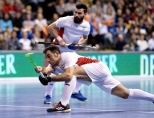 BERLIN - Indoor Hockey World Cup Bronze: Iran - Australia foto: NOROUZZADEH Reza. WORLDSPORTPICS COPYRIGHT FRANK UIJLENBROEK