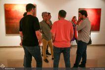 July 2018, Atbin Gallery, Tehran, Iran. Photo credit Saeed Rabiee, Honar Online.