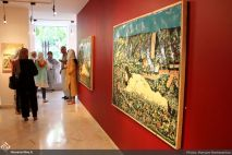 July 2018, Mah Gallery, Tehran, Iran. Photo credit Maryam Ramezanloo, Honar Online.