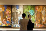 July 2018, Iranshahr Gallery, Tehran, Iran. Photo credit Honar Online.