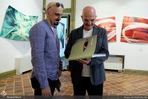 July 2018, Tehran Art Center. Photo credit Honar Online.