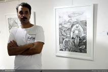July 2018, Seyhoun Gallery, Tehran, Iran. Photo credit Gata Ziatabari, Honar Online.