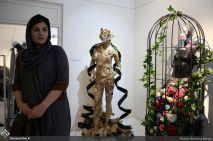 August 2018, Mostaghel Gallery, Tehran, Iran. Photo credit Ramona Mirian, Honar Online.