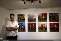 July 2018, Seyhoun Gallery, Tehran, Iran. Photo credit Sara Sasani, Honar Online.