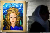 July 2018, Golestan Gallery, Tehran, Iran. Photo credit Seyed Hatef Hosseini, Honar Online.