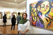 August 2018, Ayrik Gallery, Tehran, Iran. Photo credit Ahmad Aghasiani, Honar Online.